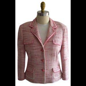 Elie Tahari Pink Blazer